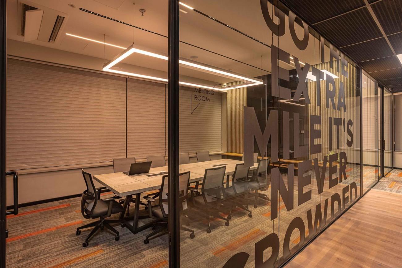 Abby lighting office meeting room