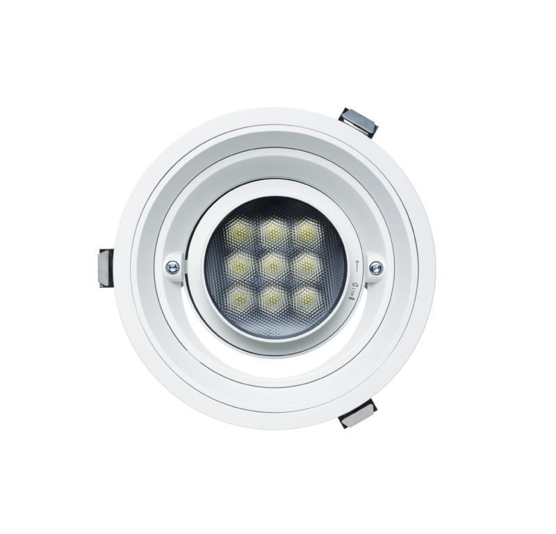 ERCO Quintessence recessed spotlight round