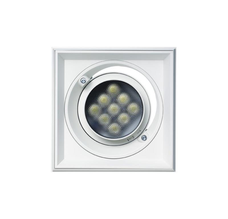 ERCO Quintessence recessed spotlight square