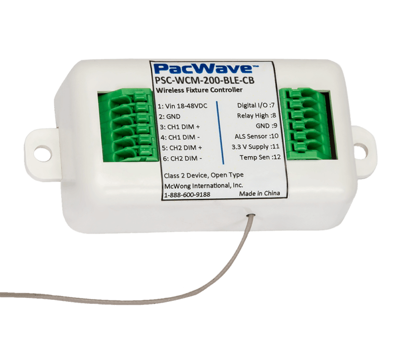 High-Voltage Dual Channel Wireless Fixture Controller