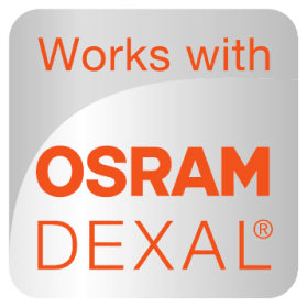 Works with OSRAM DEXAL