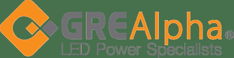 GRE Alpha Electronics logo