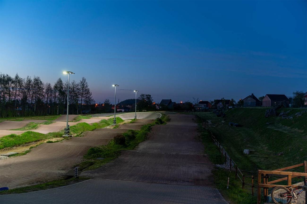 BMXing park